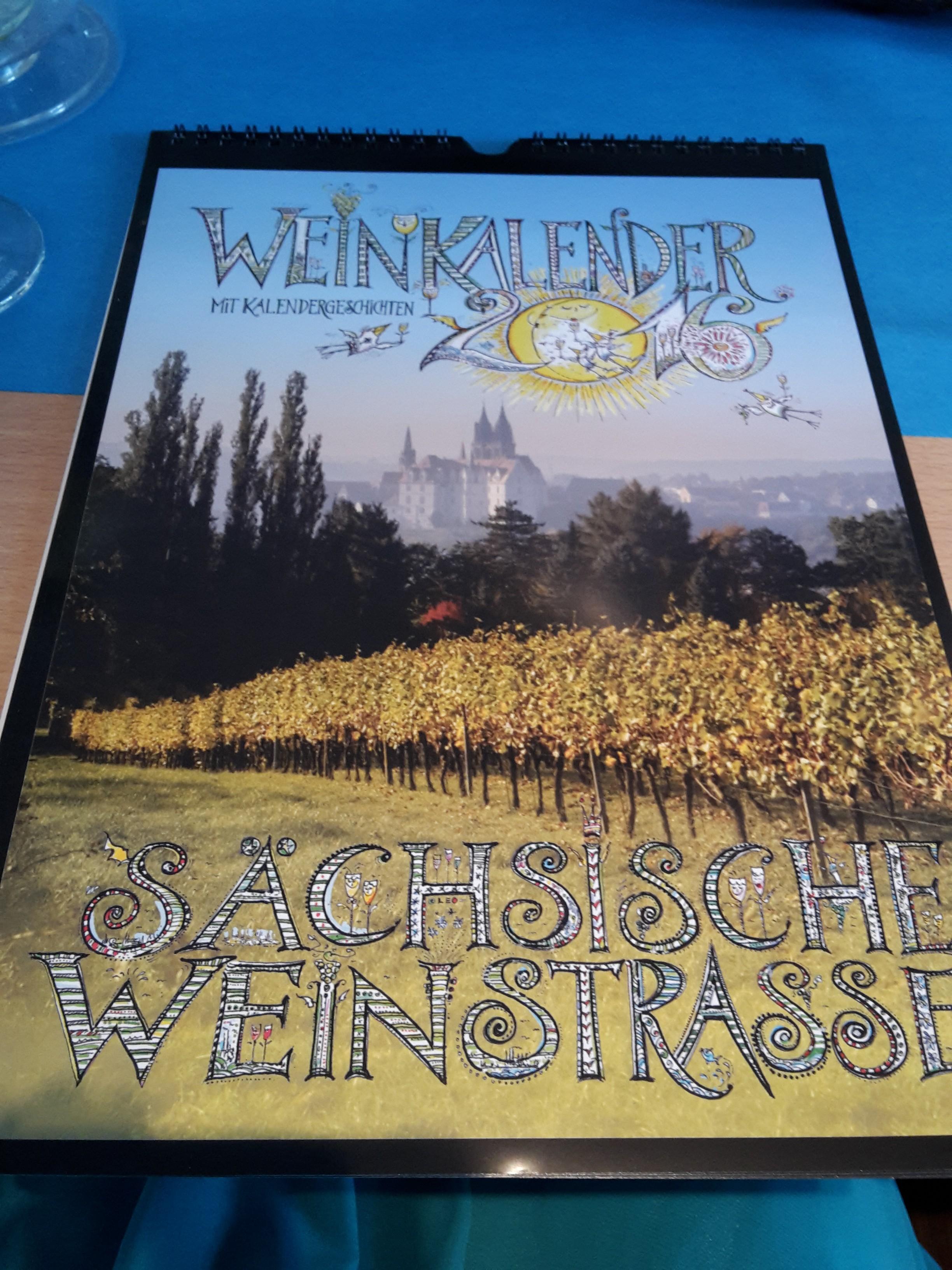 Weinkalender 2016